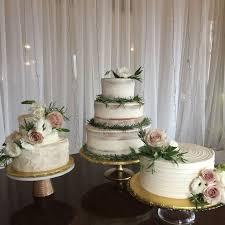 Rustic Wedding Cake Trio