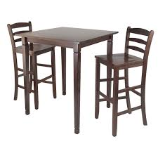 Winsome Wood 94369 Kingsgate Three-Piece High Pub Table Dining Set ... Mix Match 5 Piece Counter Height Ding Set Lifestyle C1744p Pub Table Fniture Fair North Tall Bistro Table And 2 Chairs Retro Blue In Winchester Hampshire Bar Stools The Brick Tables Long Breakfast And Glass Top Bistro Photos Pillow Weirdmongercom Challiman Rustic Brown Pc Round Drm 4 Eaging Chairs Stool Chair Handmade Log 48quot X 36quot Get The Right For Outdoor Trex Tall Ding