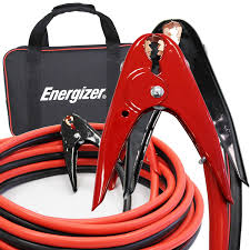 100 Tow Truck Jumper Cables Amazoncom Energizer 1Gauge 800A Heavy Duty Battery