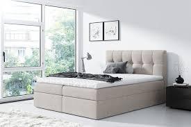boxspringbett doppelbett schlafzimmer modern kollektion bettgestell m24