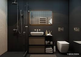 living matte black bathroom interior design how did you decorate