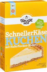 backmischung für kuchen der schnelle käsekuchen glutenfrei 485 g