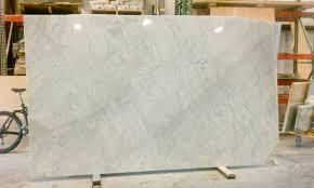 the granite gurus new carrara marble slabs in stock
