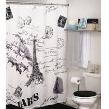 Annas Linens Curtain Panels by Eiffel Tower Shower Curtain From Anna U0027s Linens Need This For My