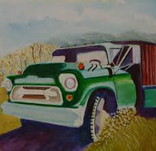 100 Two Ton Truck Frank Enger Art 56 Chevy 2 Ton Truck In NM