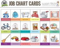 Chores Clipart Load Dishwasher Printable Job Chart Chore