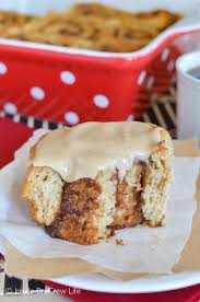 Apple Butter Cinnamon Rolls 4 1
