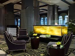 modern deco interior the allerton hotel chicago we hotels also see http www