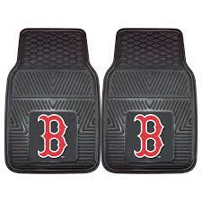 Red Bathroom Mat Set by Amazon Com Fanmats Mlb Boston Red Sox Vinyl Heavy Duty Car Mat