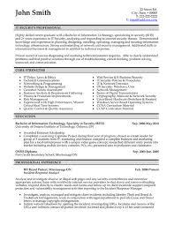 Professional Resume Samples Templates