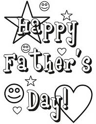 Happy Fathers Day 2017 Printable Coloring Sheets Free Download