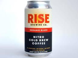 Starbucks Medium Roast Iced Coffee 1 Rise Brewing Co Nitro Cold Brew