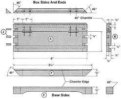 the keyed corner jewelry box plans