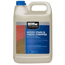 behr premium 1 gal wood stain and finish stripper 06401n the