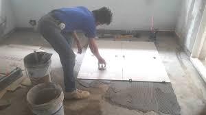 floor tile installation process 60x60 cm polished tiles