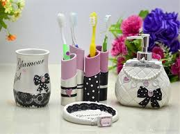 Cheap Girly Bathroom Sets by Cool And Opulent Girly Bathroom Sets Beautiful Decor Set The Pink