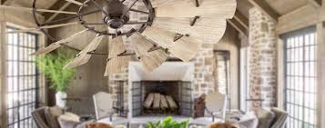 Rustic Style Ceiling Fans