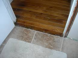 threshold saddle from tile to wood floor wood flooring design
