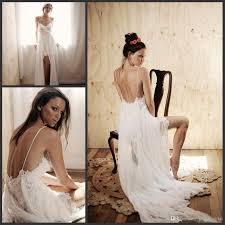 discount simple beach wedding dresses 2015 hawaii wedding gowns