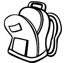 School Bag II Coloring Page To Color Print Or Download Online With This