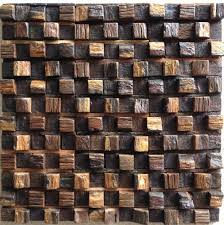 wood mosaic tile nwmt041 wood mosaics kitchen backsplash