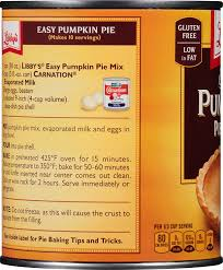 Pumpkin Pie Without Crust And Sugar by Amazon Com Libby U0027s Pumpkin Pie Mix Easy Pumpkin 30 Oz