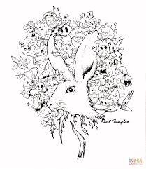 In A Bunnys Tale Doodle By Kent Sunglao