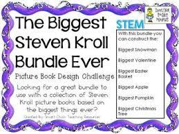The Biggest Pumpkin Ever By Steven Kroll by Kroll Books Biggest Ever Challenges Stem Picture Book Bundle