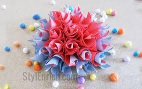 Easy Origami Paper Flower