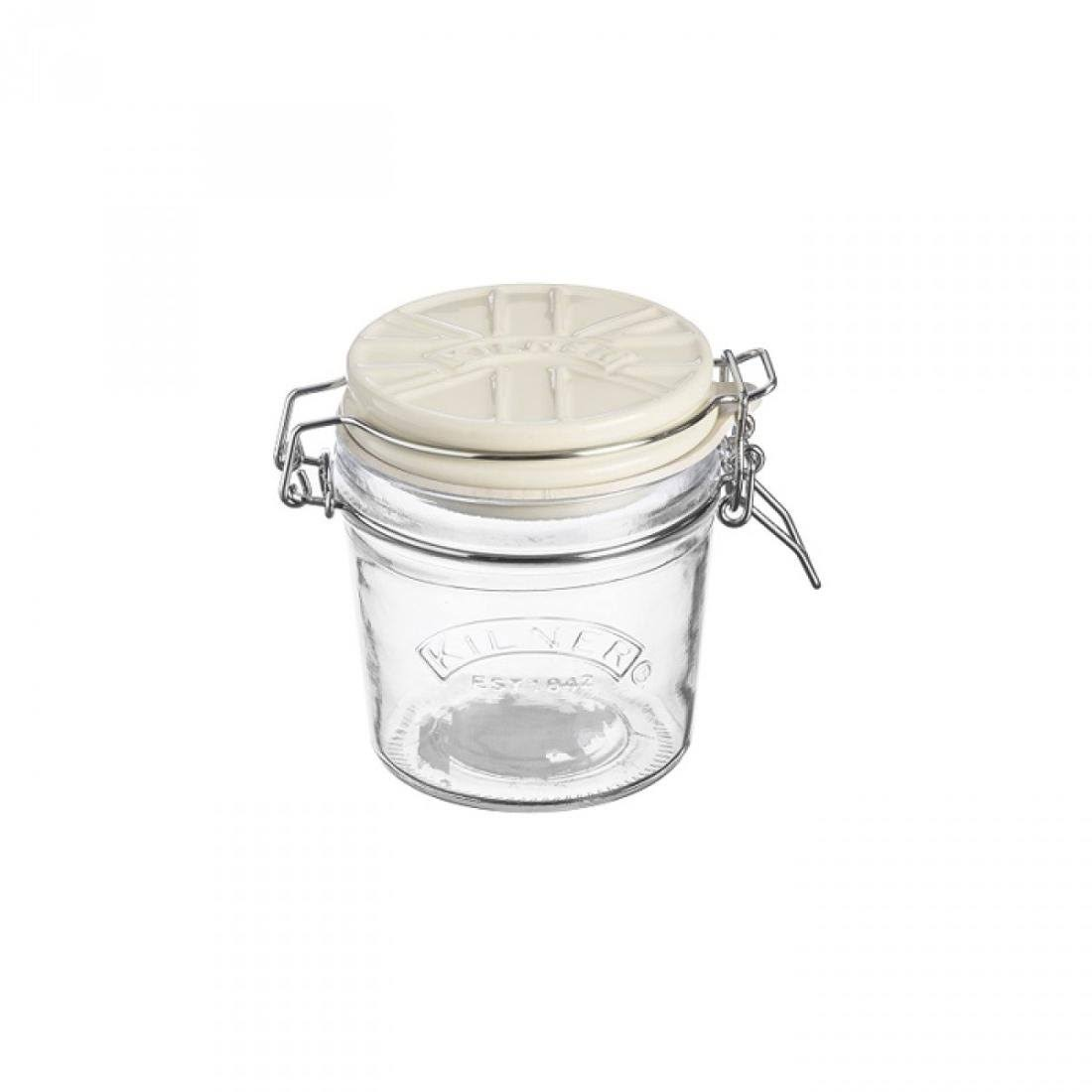 Kilner 0.35 Litre White Ceramic Lid Clip Top Jar