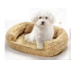 Pampered Pets Bed And Biscuit by Crochet Dog Bed Pattern Crocheted Pet Bed Sofa Crochet Pattern