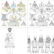 PO SNSD HERS Coloring Book