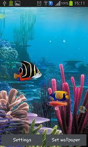 aquarium by cowboys pour android à télécharger gratuitement fond