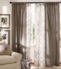 gardinen vorhänge kombinieren fenster gestalten vorhänge