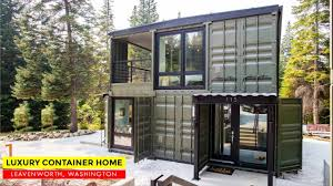 100 Luxury Container House Home In LeavenworthWA One Way Construction