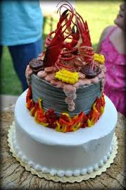 Crawfish Boil Decorating Ideas by Crawfish Boil Cakes