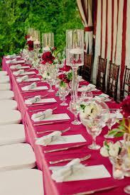 5 decos de table de mariage modernes et tendances idee de deco