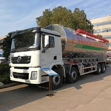 100 Feed Truck Shacman 8x4 Aluminium Alloy 40m3 Electricalhydraulic Driving Bulk With Auger For Pig And Chicken Buy Bulk Tank
