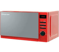 Red Kenmore Microwave Elite