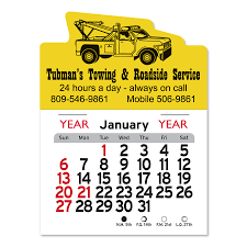 100 Tow Truck In Spanish PeelNStick Calendars Fey Promo