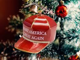 The Trump Make America Great Again Red Cap Collectible Ornament Photo Shopdonaldjtrump