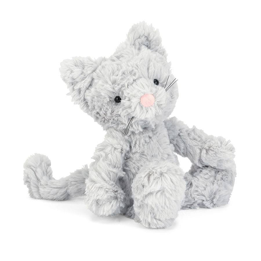 Jellycat Squiggle Kitty Stuffed Toy - 9""
