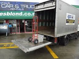 Hire A 2 Tonne Box Tail Lift Truck - Cheap Rentals From JB