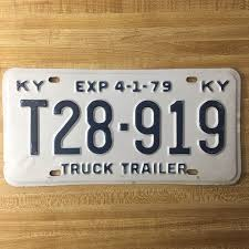 1979 Kentucky Truck Trailer License Plate T28-919 In 2018 | License ... Manitoba 1983 Natural Truck Plates Pair Natu Flickr Confederate Flag License Plates More Popular In Tennessee Time An Old Rusted Truck With California License Plates Stock Photo 1953 Gmc 2ton Flatbed Original Yellow Clear Ets2 Custom Name Youtube Group Special Department Of Revenue Motor Vehicle Filenew Jersey 1958 Farm License Plate Woody1778a Home 1968 Texas Truck Pair 1x5842 Nos Unissued Untitled Registration Plate Wikipedia