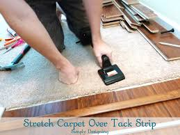 Carpet To Tile Transition Strip On Concrete by How To Install Floating Laminate Wood Flooring Part 3 The