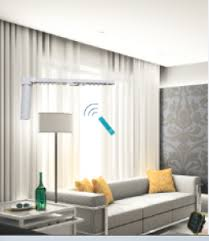 motorized curtain electric shade with DC motor from Intelligent