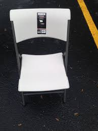 2 Almost New Costco Lifetime Folding Chairs Lifetime Commercial Folding Chair 201 D X 185 W 332 H Almond White Plastic Seat Metal Frame Outdoor Safe Set Of 4 With Carry Handle Ltm480372 Chairs 32 Pack 80407 Black Classic 4pack Lowes Pk 80643 480625 Contemporary 42810 Light Granite Of 6foot Stacking Table And Combo