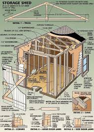 8 X 10 Gambrel Shed Plans by How To Building U2013 Wooden Shed Plans Pdf Download Plans Ca Us