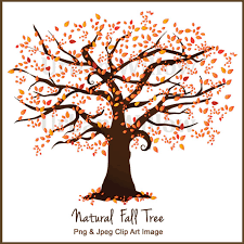 Fall Tree Clipart Clipart Autumn Tree Clipart Fall Forest Clipart Autumn Clipart Liquid Amber Wedding invites Natural Looking Tree