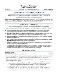 It Security Resume Analyst Sample Executive Writer New Homeland Objectives
